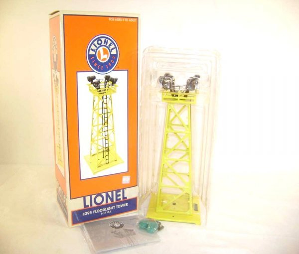 11: ABT: Lionel #14155 Yellow Floodlight Tower/OB