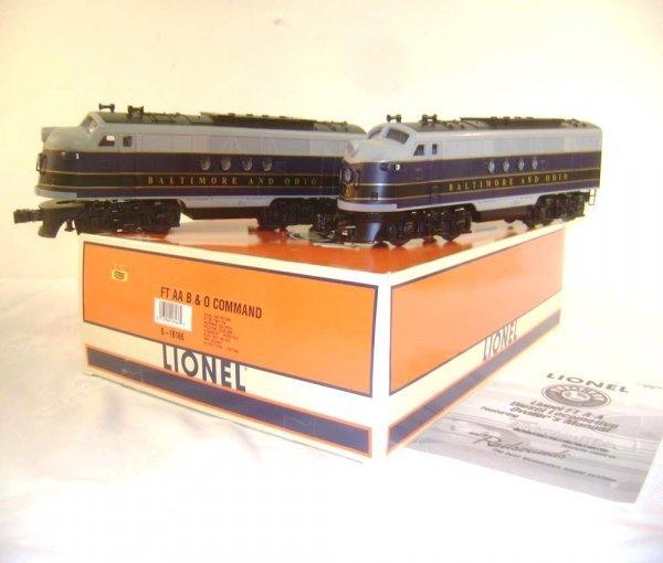 15: ABT: Lionel #18146 Baltimore & Ohio FT AA Command C