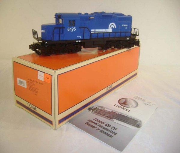 18: ABT: Lionel #18566 Conrail SD-20 Diesel/OB