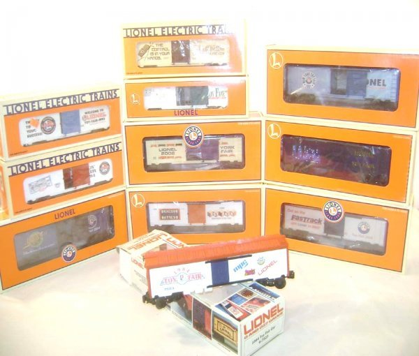 22: ABT: 11 Mint Lionel Toy Fair Cars from the 1990s/20