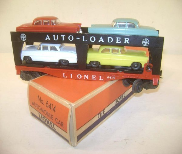 6: ABT: Lionel #6414 Auto Loader/Great 56+ OB