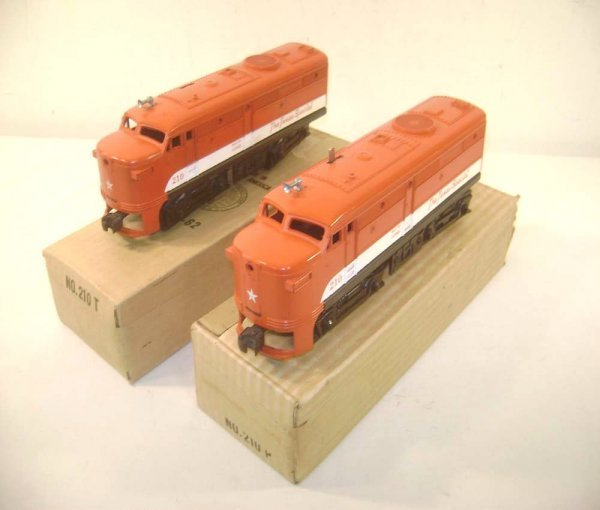 11: ABT: Nice Lionel #210P/T Texas Special Alco AA Dies