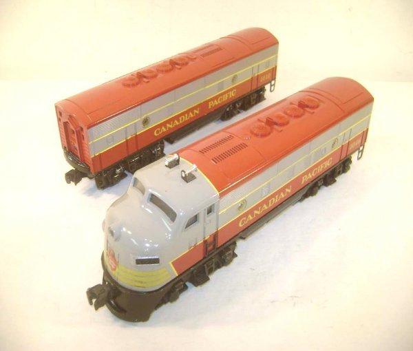 15: ABT: Interesting Lionel Canadian Pacific Custom-Pai