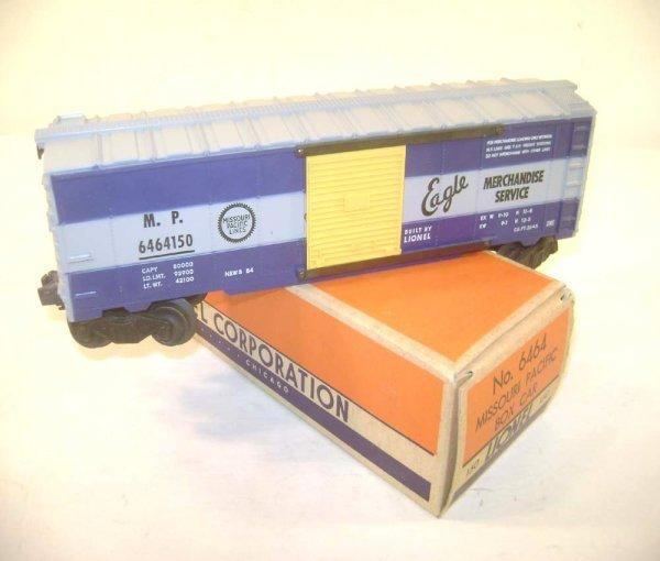 18: ABT: Lionel #6464-150 Missouri Pacific Box Car/Righ