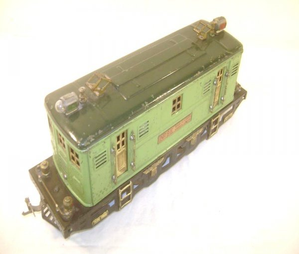 1: ABT: Lionel #9E Two-Tone Green Electric