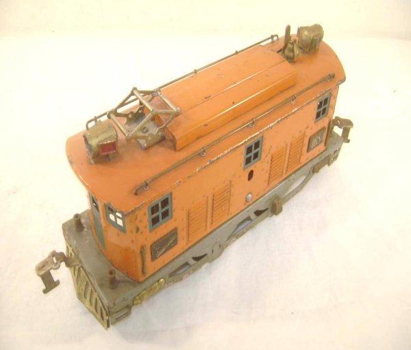 9: ABT: American Flyer #4684 Orange Wide Gauge Electric
