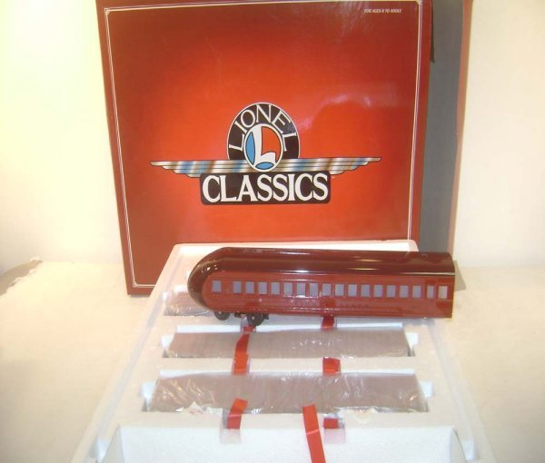 14: ABT: Lionel #51201 4 pack of Rail Chief Streamline