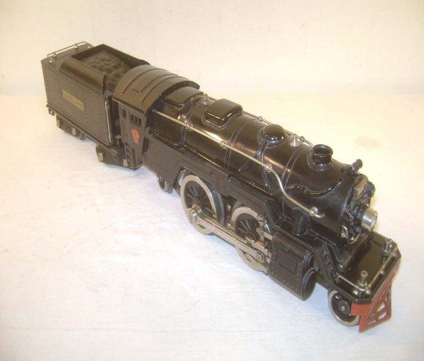 15: ABT: Lionel #1835E Black Steam Engine & #1835W Whis