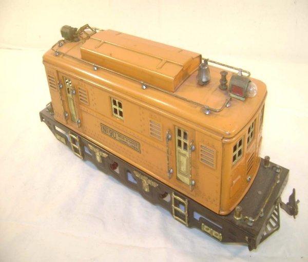 20: ABT: Scarce Lionel #9U Orange Electric