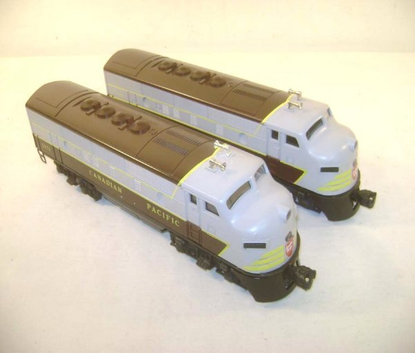 1: ABT: Lionel #2373 Canadian Pacific F-3 AA Units (R)
