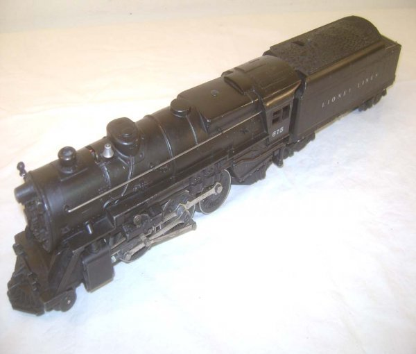 8: ABT: Nice 1948 Model Lionel #675 Steam Engine & #646