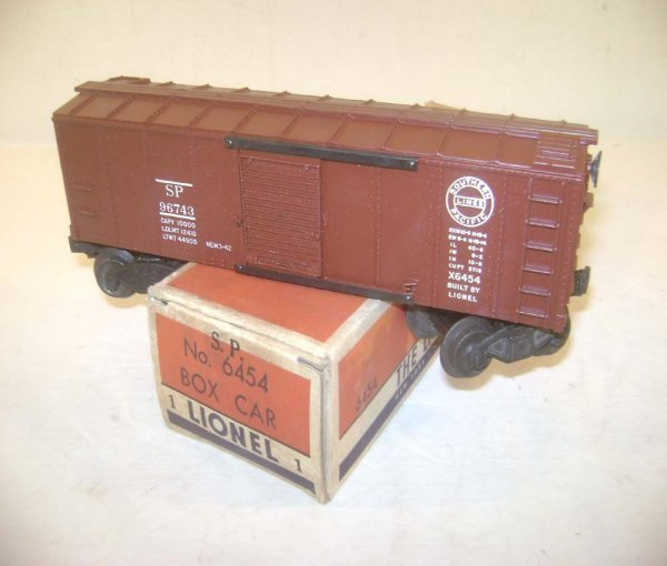 18: ABT: Great Lionel #6454 SP Box Car/OB