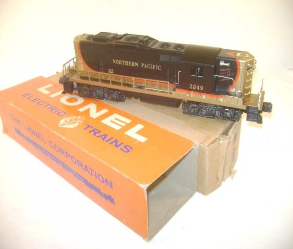 20: ABT: Lionel #2349 Northern Pacific GP-9 Diesel/OB+