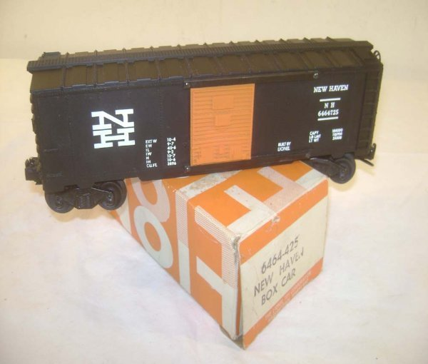 21: ABT: Scarce Lionel #6464-725 Black New Haven Box Ca