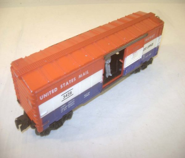 22: ABT: Lionel #3428 Operating US Mail Box Car