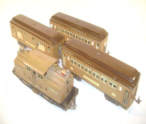 12: ABT: Lionel #318E/310/309/312 Baby State Passenger