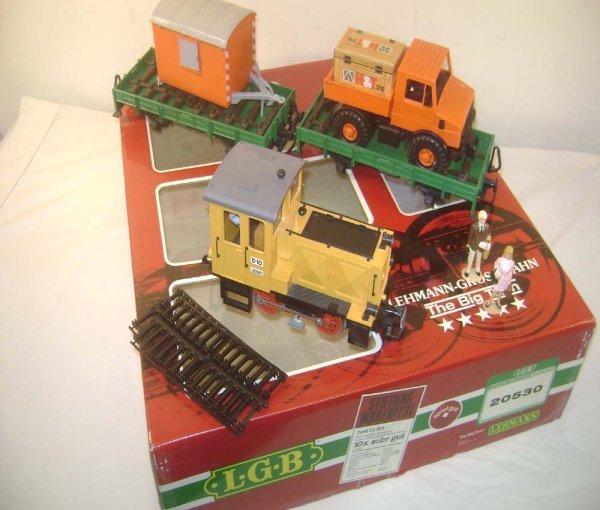 1: ABT: LGB G Scale #20530 3 Piece Diesel Freight Set/O