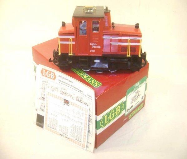 7: ABT: LGB G Scale #2061 Furka-Oberalp Diesel Engine/O
