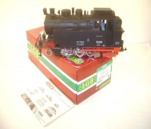 9: ABT: LGB G Scale #2080D 2-6-2 Black Steam Tank Engin
