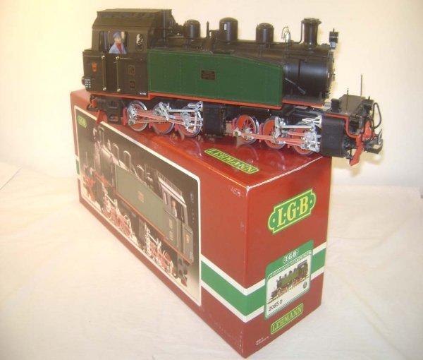 10: ABT: Great LGB #2085D 0-6-6-0 Mallet Tank Steam Eng