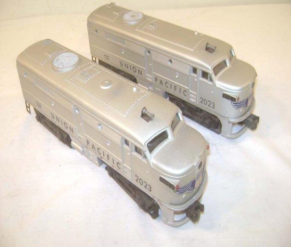 23: ABT: Lionel #2023 Silver/Gray Union Pacific Alco Di