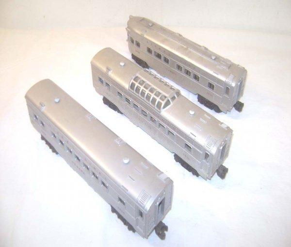 24: ABT: Lionel #2432/2434/2436 Silver Passenger Cars