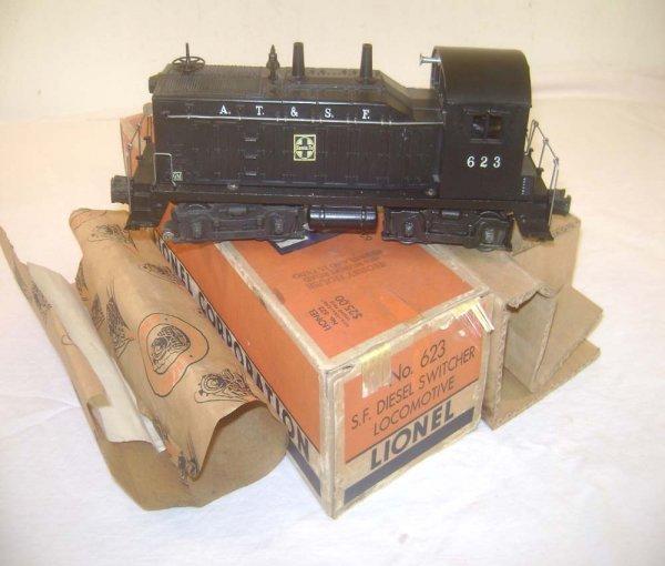 18: ABT: Nice Lionel #623 Santa Fe Diesel Switcher/OB+