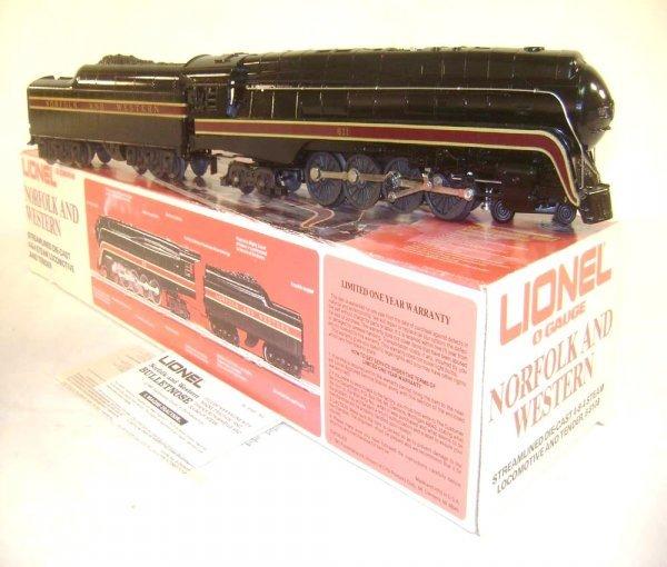 1: ABT: Lionel #8100 N&W J Class Streamline Steam Engin
