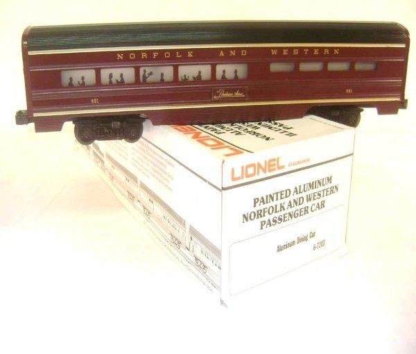 8: ABT: Lionel #7203 N&W Streamline Separate Sale Diner