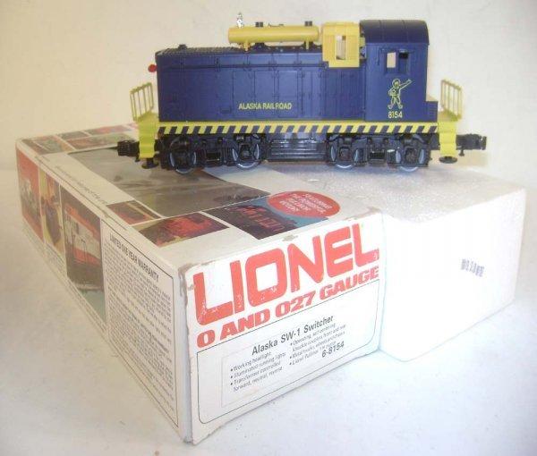 12: ABT: Lionel #8154 Alaska Railroads SW-1 Diesel Swit