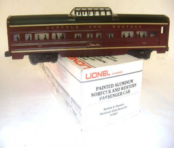 13: ABT: Lionel #9567 N&W Streamline Separate Sale Vist