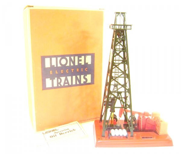 16: ABT: Lionel #2305 Getty Operating Oil Derrick Acces
