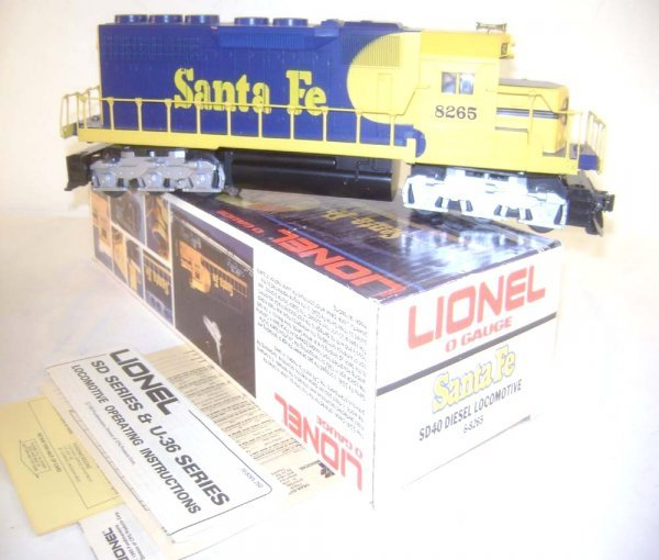 19: ABT: Great Lionel #8265 Santa Fe SD-40 Diesel/OB