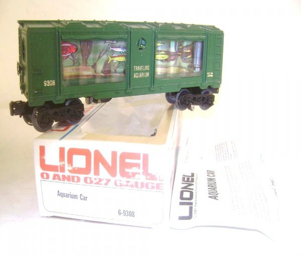 21: ABT: Scarce Lionel #9308 Operating Aquarium Car/OB