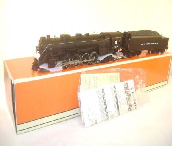 125: ABT: Lionel #18009 NYC 4-8-2 Mohawk Steam Engine &