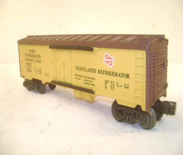 279: ABT: 5 Assorted Lionel Fallen Flags RR Freight Car - 5