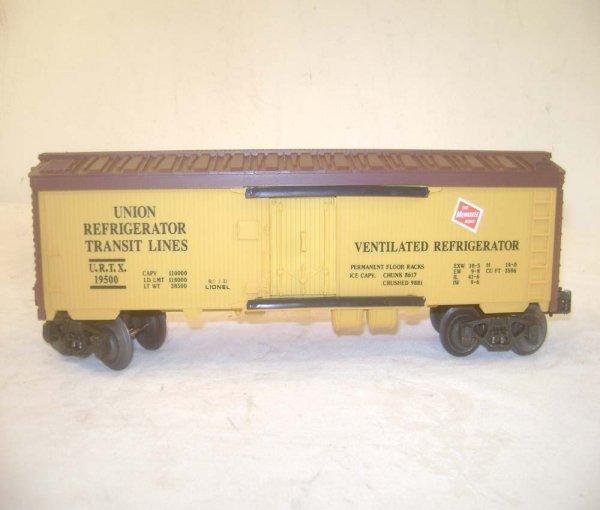 279: ABT: 5 Assorted Lionel Fallen Flags RR Freight Car - 6