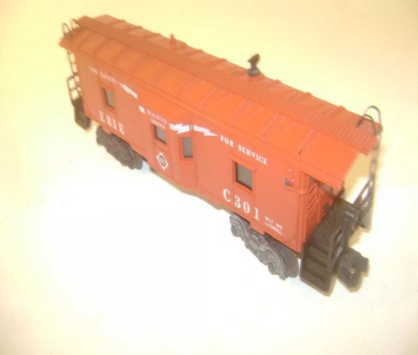 3: ABT: Scarce Lionel #6517-75 Erie Bay Window Caboose
