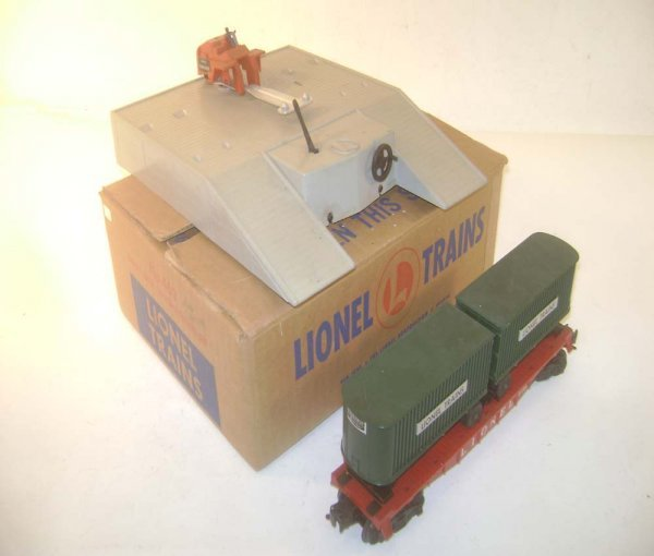 6: ABT: Lionel #460 Piggy Back Transportation Set/OB