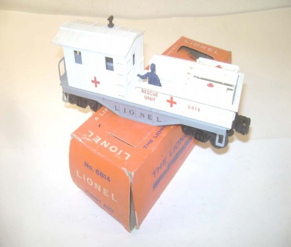 11: ABT: Wonderful Lionel #6814 First Aid Rescue Caboos
