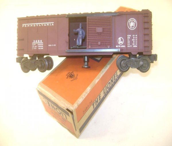 21: ABT: Nice Lionel #3484 Pennsylvania Operating Box C