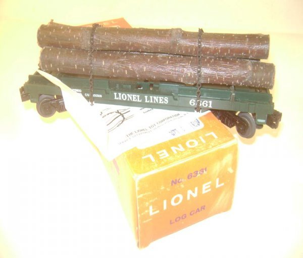 24: ABT: Great Lionel #6361 Timber Car/Pix OB