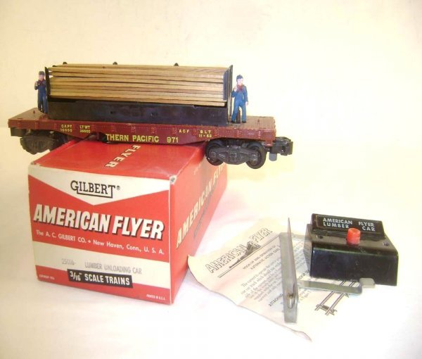 6: ABT: AF S: #971 Mo & Joe Lumber Unloading Car/OB