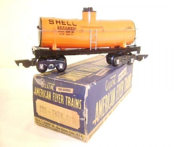 10: ABT: Rare AF S: #625 Orange Shell Tank Car/OB