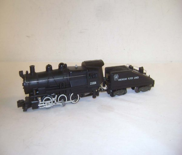 15: ABT: AF S: #21004 Pennsylvania 0-6-0 Steam Switcher