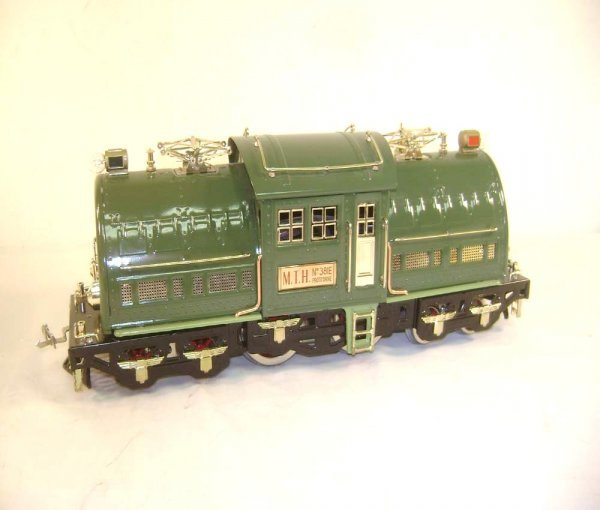 1: ABT: MTH #381E Standard Gauge Dark Green Locomotive