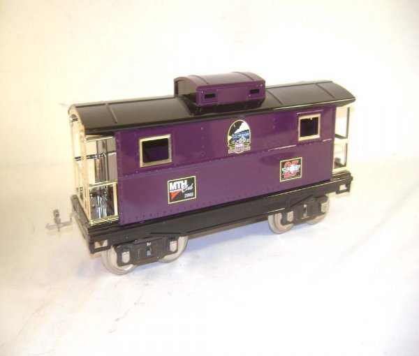 3: ABT: MTH Club 25 Standard Gauge 200 Series Caboose