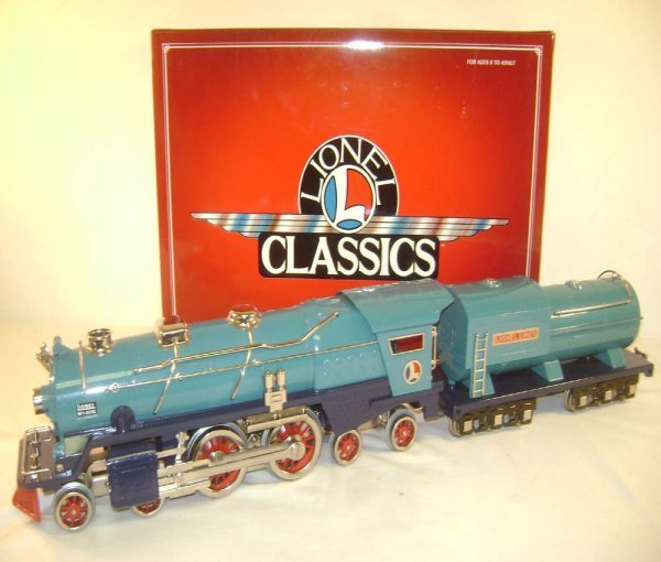 20: ABT: Lionel Classics #13103 400E Blue Comet Steam E
