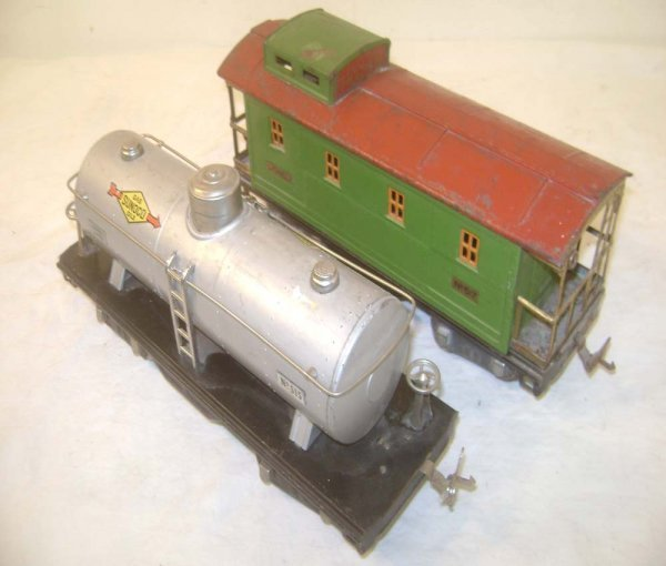 24: ABT: Lionel #515 and #517 Standard Gauge Freight Ca
