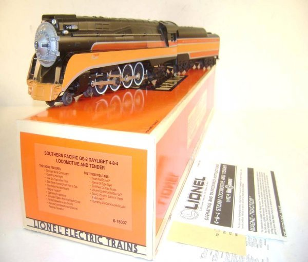 1: ABT: Lionel #18007 Southern Pacific Daylight GS-2 St